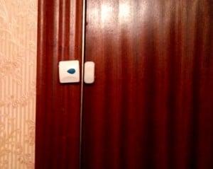 Dispositivo de la puerta de entrada a la vivienda