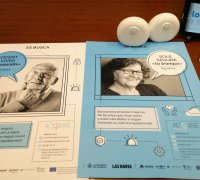 INICIATIVA SOCIAL INTEGRAL en la presentación en el Ayuntamiento de Valencia del Proyecto ACTIVAGE.
